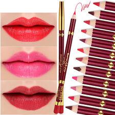 12 Couleurs Impermeable Crayon à Lèvre Maquillage Lèvre Lip Liner Pen