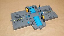 Gray & Blue Tomy 4-way Intersection Crossing Piece Tomica Trackmaster 1993