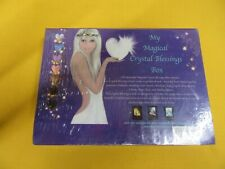 My Magical Crystal Blessings Box 42 Crystal Oracle Card Deck, 7 Crystal Gift Box