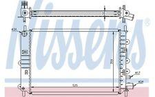 NISSENS Radiador, refrigeración del motor FORD ESCORT ORION 62217A