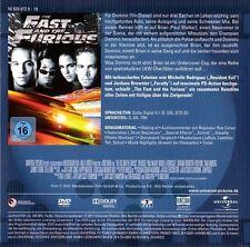 THE FAST AND THE FURIOUS (Paul Walker, Vin Diesel) DVD im Pappschuber NEU