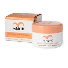 2x Rebirth Placenta Anti-wrinkle Cream With Vitamin E 1000iu& Lanolin, 100mL jar