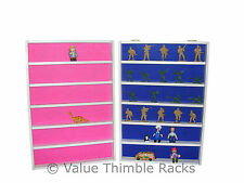 Display rack for kids collectable small toys-Lego-mini cars-film characters