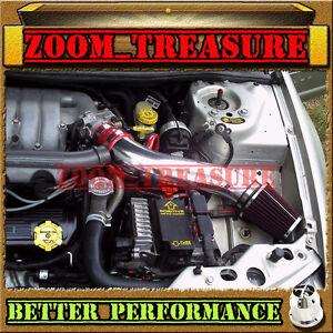 RED CHF 1995-2000 DODGE STRATUS/CHRYSLER SEBRING/CIRRUS V6 LONG AIR INTAKE 2