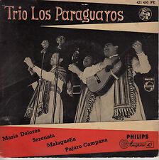 45TRS VINYL 7''/ DUTCH EP TRIO LOS PARAGUAYOS / MARIA DOLORES + 3