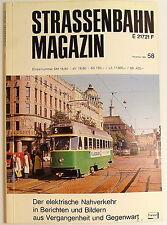 Straßenbahn Magazin Heft 58 November 1985 S.241-320 Franckh'sche Verlagshandlung