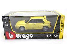 Bburago LANCIA DELTA HF INTEGRALE EVO 2 YELLOW 1/24 Diecast Toys Car