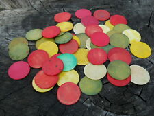 Old Rare Vintage Antique Civil War Relic Gambling Poker Chips Game Markers