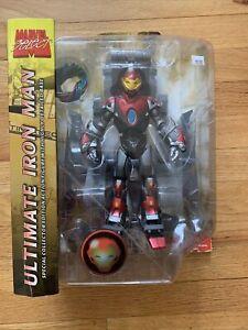 Marvel Select Ultimate Iron Man 2003 Action Figure Diamond Select Toys