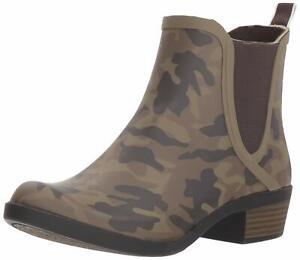 Lucky Brand Women's Camo BASELH2O Rain Boot 10M NW/OB