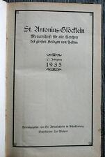 St. Antonius-Glöcklein für alle Verehrer des großen Heiligen von Padua 1935
