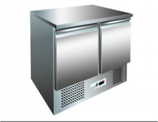 TABLE BT 2 PORTES mm 943x700x850h SALADETTE REFR 12° -18° inox surface