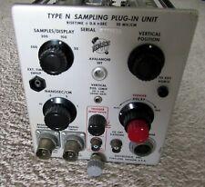 Vintage Tektronix Type N Sampling Plug-in Unit for 500-Series
