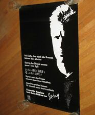 """1986 Sting 36 X 24 Poster """"I Hope The Russians Love Their Children Too"""" Police"""