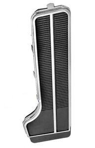 Deluxe Replacement Gas Pedal with Chrome Trim for Impala, El Camino, Chevelle