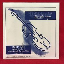 D 'addario zyex violin Strings-dz311 4/4h - einzelsaite e-Heavy tension