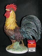 Goebel Porzellan Figur Tier Animal Vogel Bird Hahn Cock CV105 matt