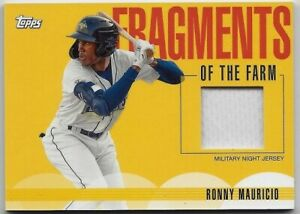 Ronny Mauricio  2020 Topps Pro Debut Fragments of the Farm Mets #1 Prospect