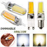 G4 G9 E14 8W 10W Dimmable Silicone Crystal LED 220V Corn Bulb SpotLight Lamp