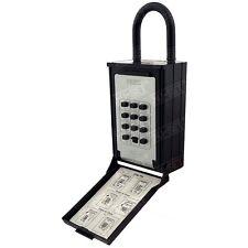Key / Card Storage Lockbox Push Button Lock Box for Seniors, Medical Emergency