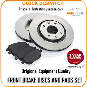 109 FRONT BRAKE DISCS AND PADS FOR ALFA ROMEO GTV 2.0 TS 2/2004-12/2005