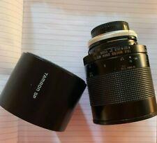 TAMRON SP 500mm 1:8 TELE MACRO Mirror Lens F/8 Canon fd , BBAR MC, 55BB