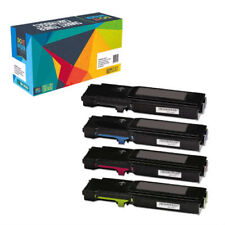 4-Pack Toner Set for Xerox Phaser 6600 6600DN WorkCentre 6605 6605DN 106R02228
