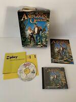 Flight Of The Amazon Queen PC CD Big Box Working RARE