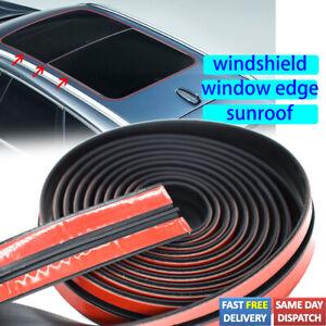 US 6.5 FT Windshield Window Panel Trim Edge Roof Sticker Weatherstrip Seal Strip