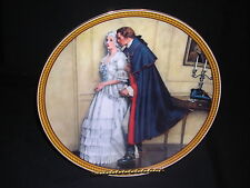 Knowles Norman Rockwell's Colonials The Unexpected Proposal Boxed Plate