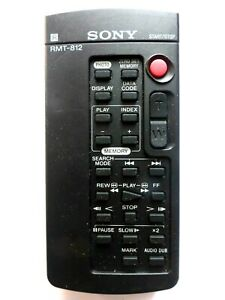 SONY CAMCORDER REMOTE CONTROL RMT-812 for DCRTRV10E