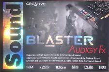 Creative Sound Blaster Audigy FX PCIe 5.1 Sound Card SB1570