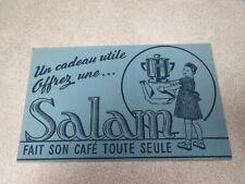 BUVARD SALAM CAFE CAFETIERE BLEU
