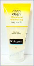 NEUTROGENA DEEP CLEAN BLACKHEAD ELIMINATING DAILY SCRUB FIGHTING COMPLEX 40 G.