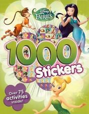 Disney Fairies/Tinkerbell: Colouring and Activity Book With 1000 Stickers