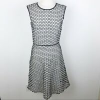 J. Crew Punched Out Eyelet Lace Midi Dress Size 4 Tall