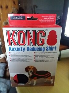 Kong Dog Stress Fear Calming Anxiety Reducing Shirt - Large 50.8cm BRAND NEW