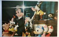 Walt Disney World Orlando FL The Mickey Mouse Revue Postcard Vintage Amusement