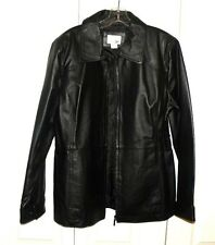 Women's East 5th Genuine Leather Jacket Size Large