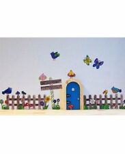 Nature Print Fairy Tales Wall Decals & Stickers for Children