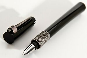 New ,Waterman Serenite Black Fountain Pen