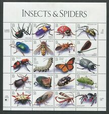 US Sheet MNH #3351 33c Insects & Spiders ,  3351