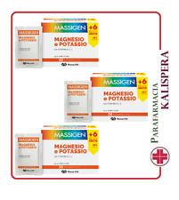 3 Massigen Magnesio e potassio 30 bustine X 3 NUOVO FORMAT PROMOZIONE