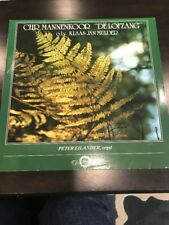 Chr. Mannenkoor De Lofzang Record Album Rare