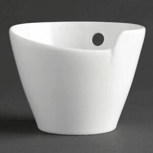 Royal Porcelain Maxadura Noodle Bowls with Chopstick Holder 130x130mm Pack of 2