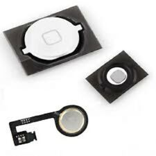 IPHONE 4S TASTO HOME BUTTON BIANCO WHITE FULL ASSEMBLY FLEX