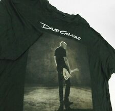 David Gilmour Sepia Photo Rattle That Lock Tour 2016 Black T Shirt Sz 3XL