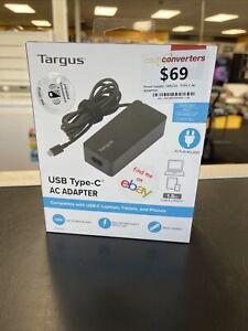 NEW! Targus 65W USB Type-C AC ADAPTER