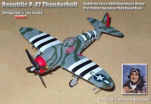 "WINGCLUB 1/144 SP: P-47D-25-RE Thunderbolt  ACE Francis S. ""Gabby"" Gabreski"