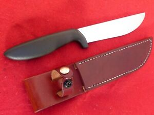 vintage Gerber USA made Big Hunter fixed blade knife & sheath